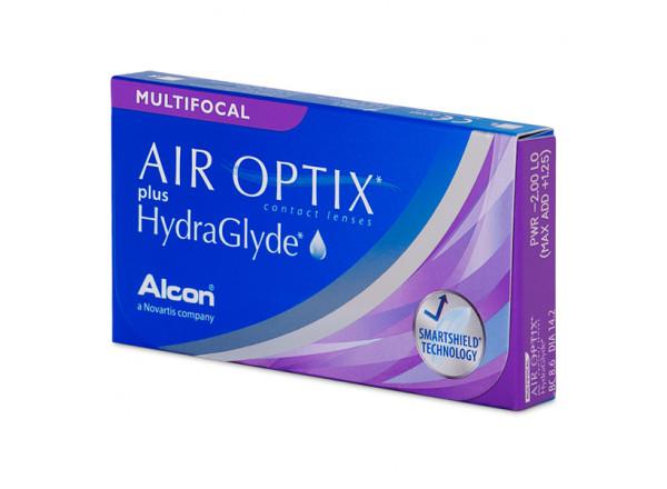 Air Optix Aqua Multifocal plus HydraGlyde