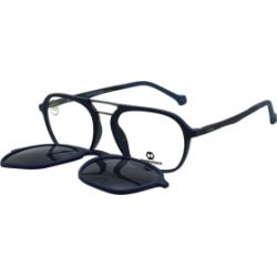 Akinių rėmelis su saulės klipsu Eyecroxx EC571UD C3 (52)