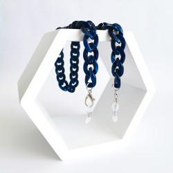 Akinių grandinėlė INVU blue (30381)