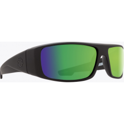 Saulės akiniai SPY LOGAN matte black/bronze/green (61)