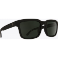 Saulės akiniai SPY HELM2 matte black/gray green (57)