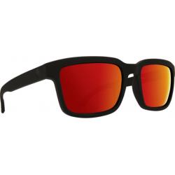 Saulės akiniai SPY HELM2 matte black/gray green/red (57)
