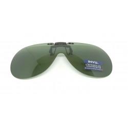 Saulės klipsai akiniams INVU C2000C