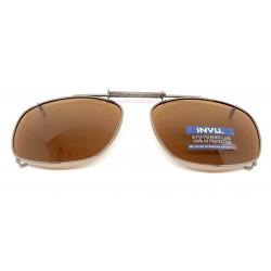 Saulės klipsai akiniams INVU C3101B