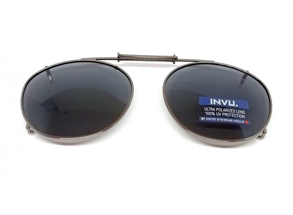 Saulės klipsai akiniams INVU C3103A
