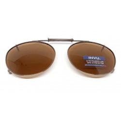 Saulės klipsai akiniams INVU C3104B
